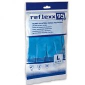Многоразовые защитные перчатки, нитриловые Reflexx