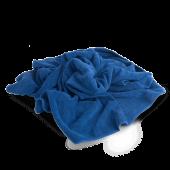 PROFI-MICROFASERTUCH Полотенце оверлоченное 55*80 см, СИНЕЕ, 400гр/м2 для сушки авто