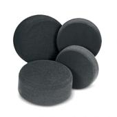 Finishing pad black - полировальный круг финишный чёрный 130 x 30 мм