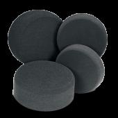 Finishing pad, black - полировальный круг чёрный 160 x 60 мм