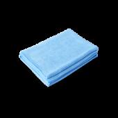PROFI-MICROFASERTUCH Полотенце оверлоченное 55*80 см, ГОЛУБОЕ, 400гр/м2 для сушки авто
