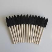 Губка- шпатель на деревянной ручке