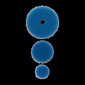 Полировальный круг комплект - твердый резак 75мм/54мм/34мм- синий