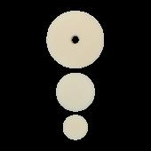 Полировальный круг комплект - мягкий финишный 75мм/54мм/34мм- белый