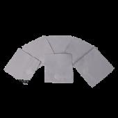 Салфетки для нанесения защитных составов 10*10 см серые упаковка 100 шт.