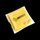 PROFI-MICROFASERTUCH Микрофибра салфетка 40*40 см, желтая, без оверлока, 280гр, уп-ка 2 шт.